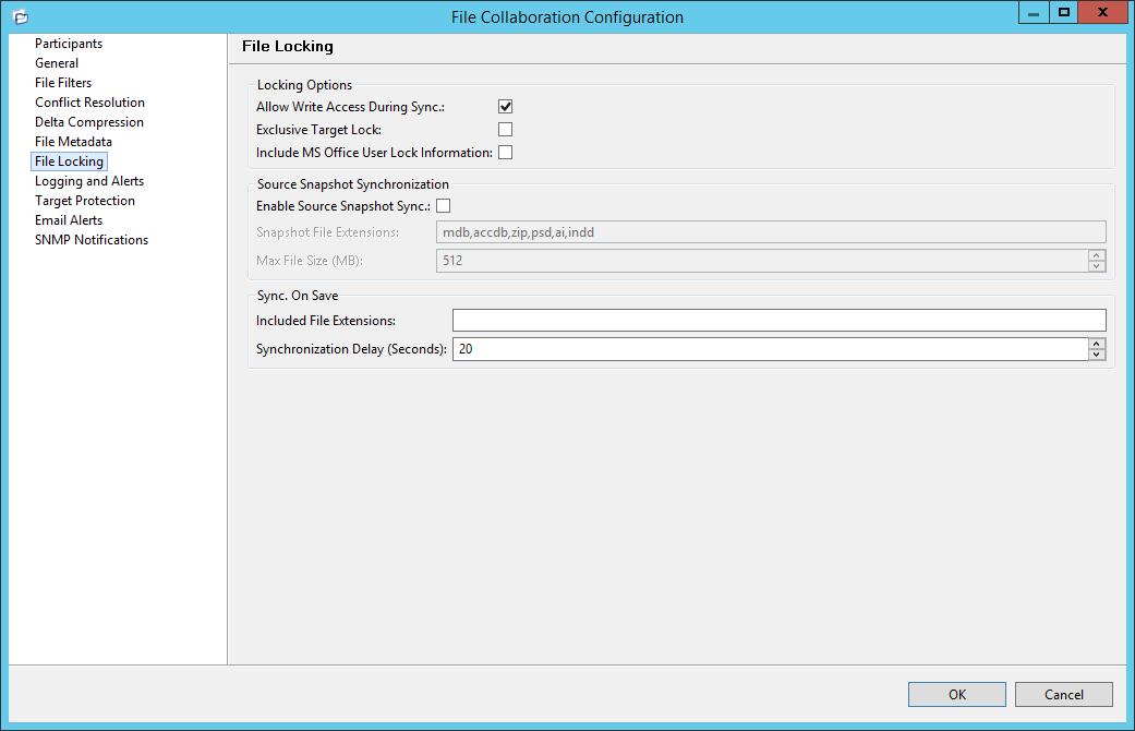 PeerLink Help > Creating a File Collaboration Job > Step 7 - File