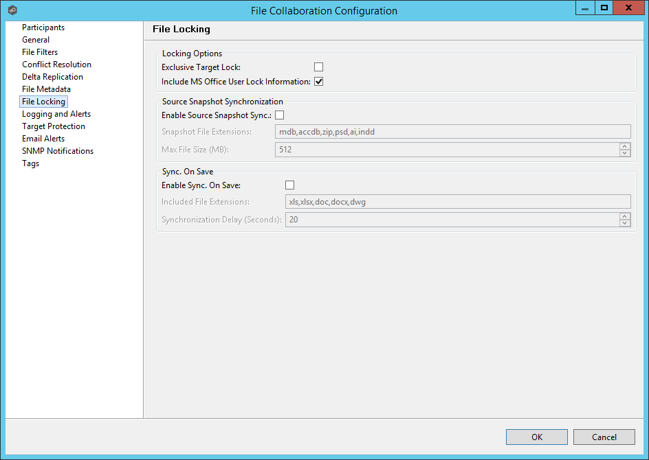 Peer Management Center Help > Creating a File Collaboration Job